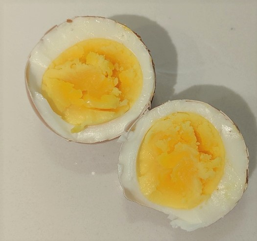 7 minute hard boiled egg