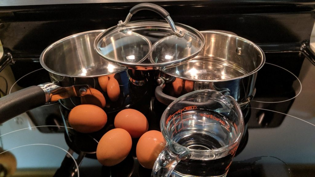 How To Steam Eggs, What You Will Need