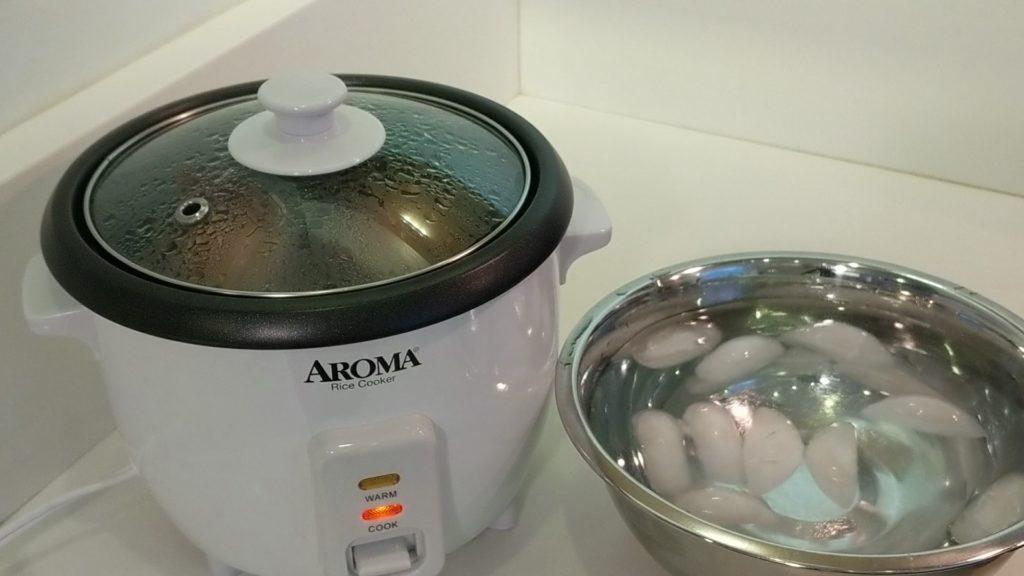Aroma Rice Cooker 2 - 6 Cup Ice Bath