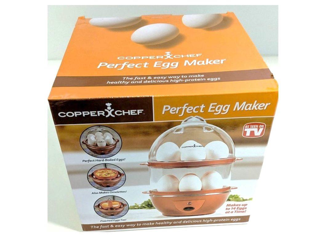Perfect Egg Maker Copper Chef