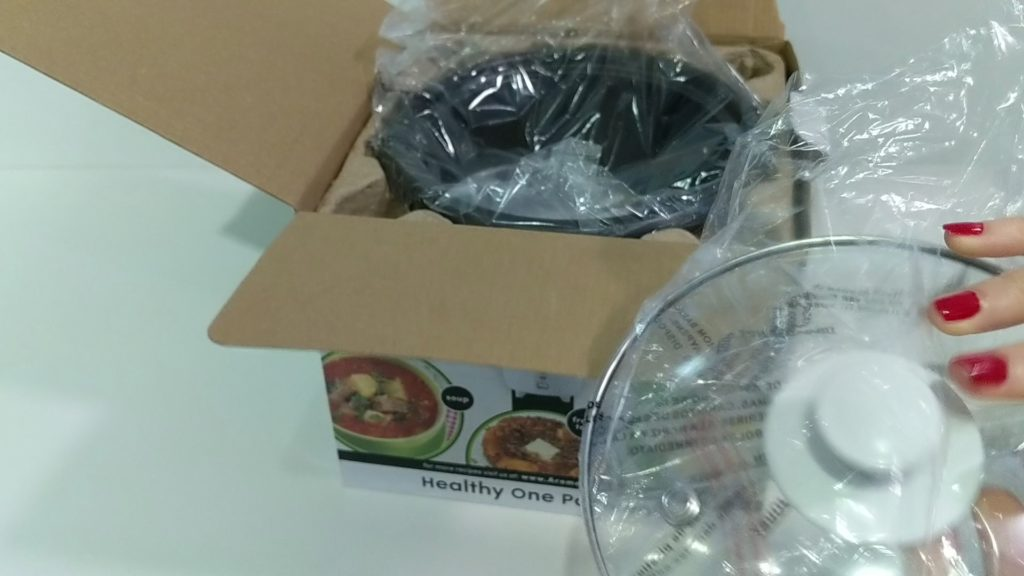 Aroma Rice Cooker 2 - 6 Cup glass lid
